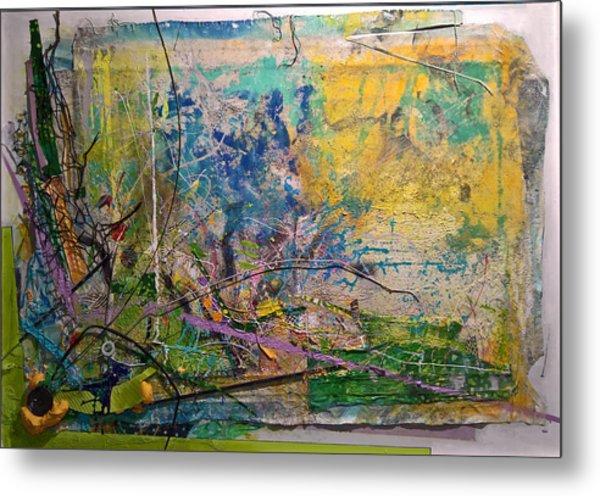Abstract #42217 Metal Print