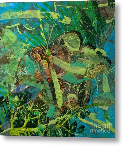 Abstract #493 Metal Print