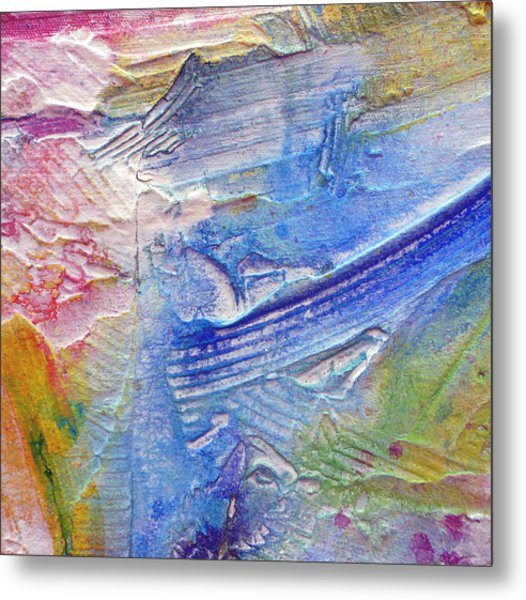 Metal Print featuring the painting Abstract 6 by Tracy Bonin