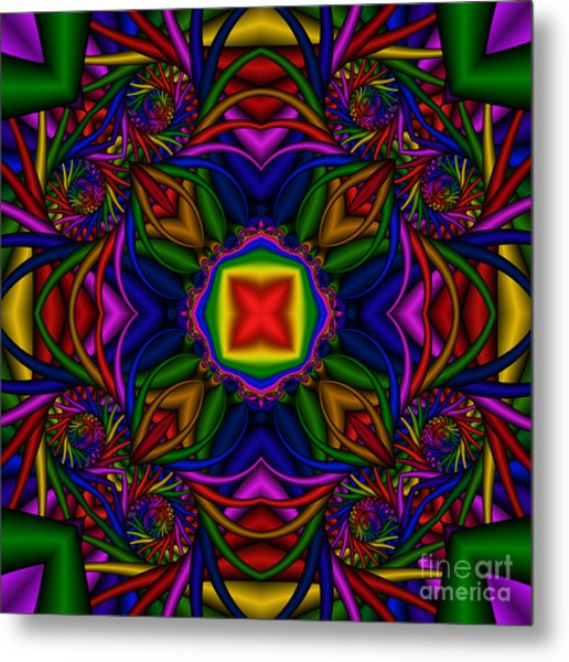 Abstract 611 Metal Print by Rolf Bertram