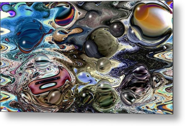Abstract 623164 Metal Print