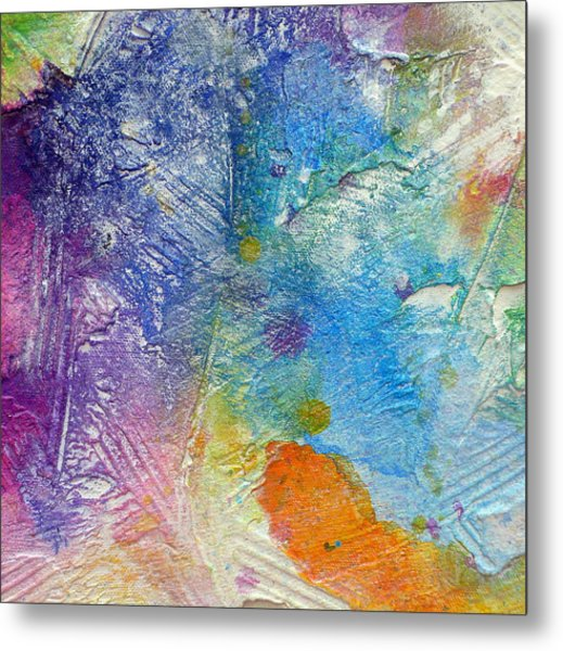 Metal Print featuring the painting Abstract 7 by Tracy Bonin