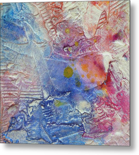 Metal Print featuring the painting Abstract 8 by Tracy Bonin