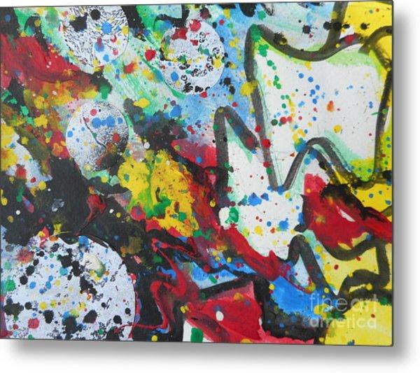 Abstract-9 Metal Print