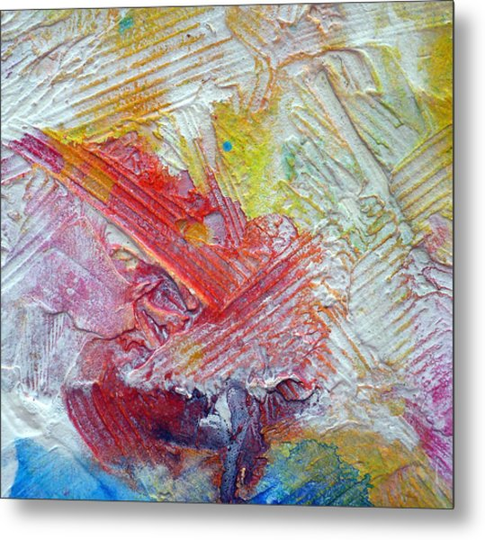 Metal Print featuring the painting Abstract 9 by Tracy Bonin