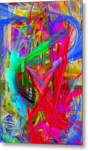 Abstract 9028 Metal Print