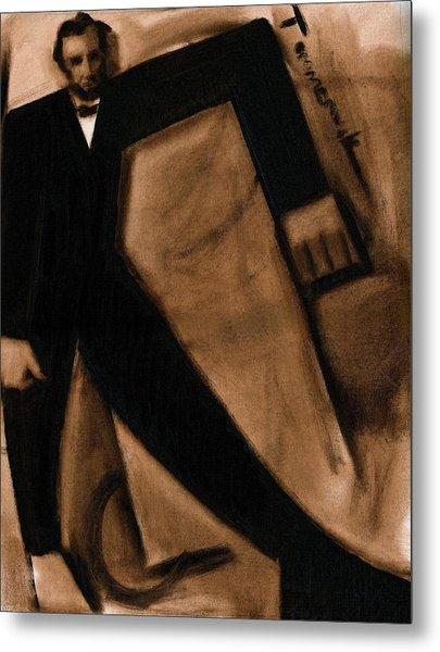 Tommervik Abstract Abraham Lincoln Art Print Metal Print