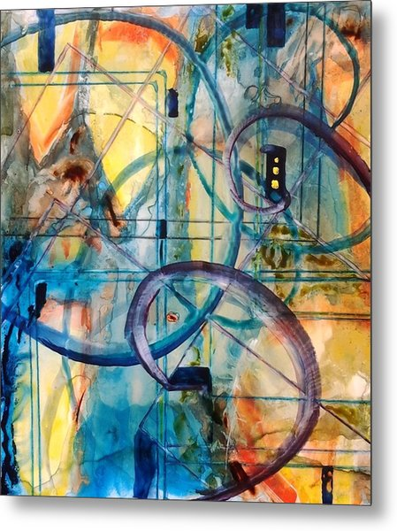 Abstract Appeal Metal Print