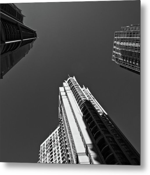 Abstract Architecture - Mississauga Metal Print