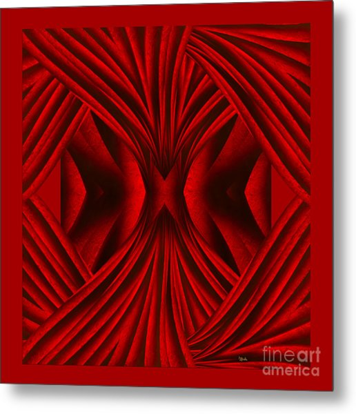 Abstract Art - Hot Secrets By Rgiada Metal Print