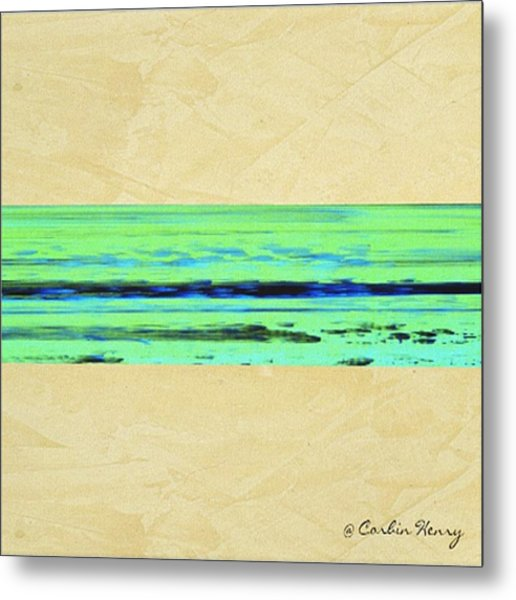 Abstract Beach Landscape  Metal Print