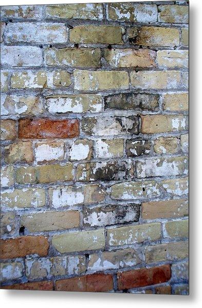 Abstract Brick 10 Metal Print