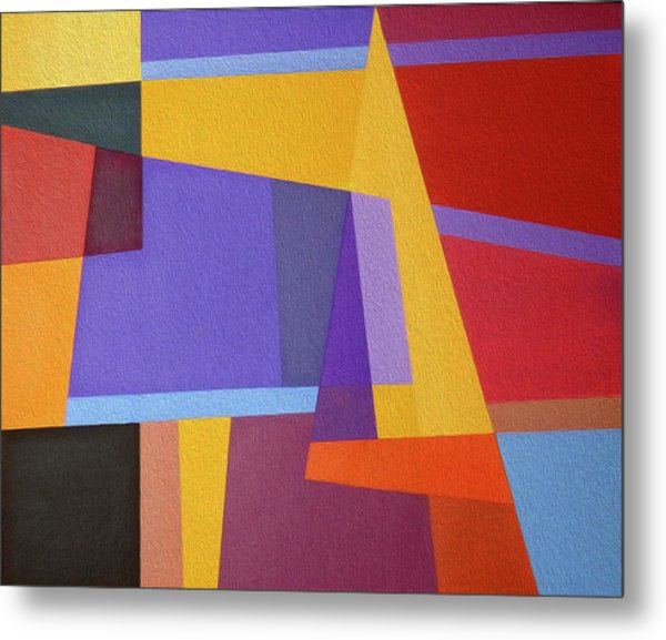 Abstract Composition 7 Metal Print