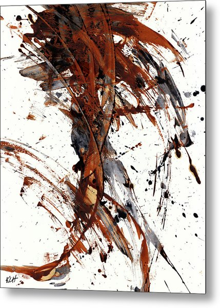 Abstract Expressionism Series 51.072110 Metal Print