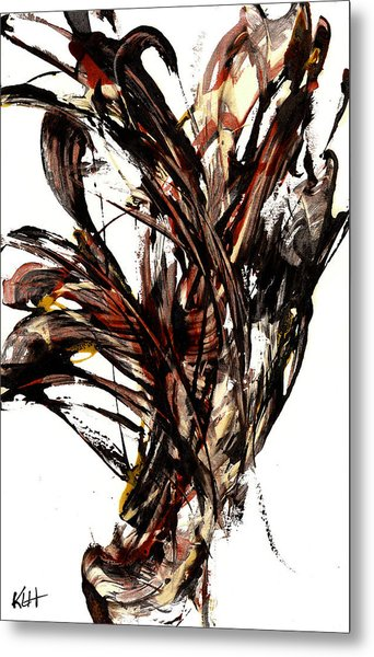 Abstract Expressionism Series 58.121210 Metal Print