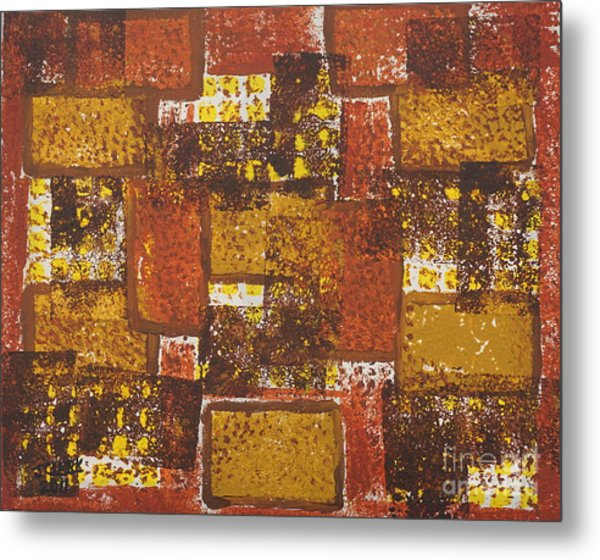 Abstract_ Fall  Metal Print