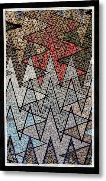 Abstract Floor  Metal Print