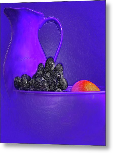 Abstract Fruit Art 53 Metal Print