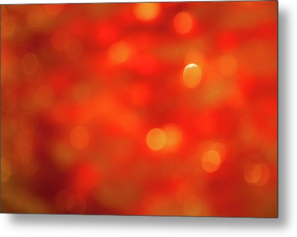 Abstract Honey Cakes Metal Print
