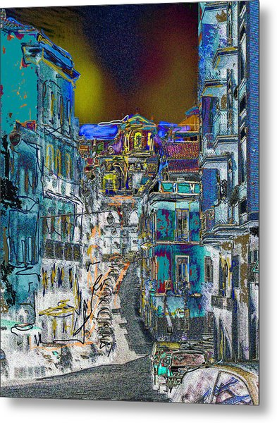 Abstract  Images Of Urban Landscape Series #11 Metal Print