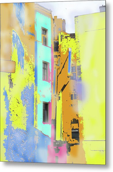 Abstract  Images Of Urban Landscape Series #2 Metal Print