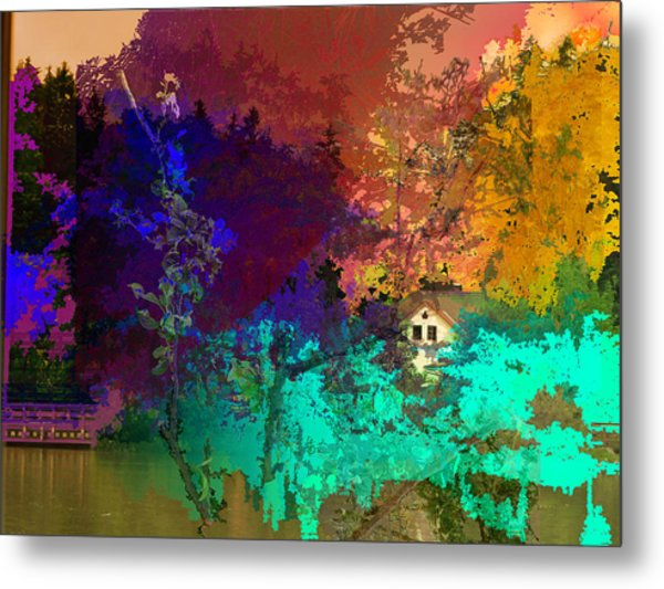 Abstract  Images Of Urban Landscape Series #4 Metal Print