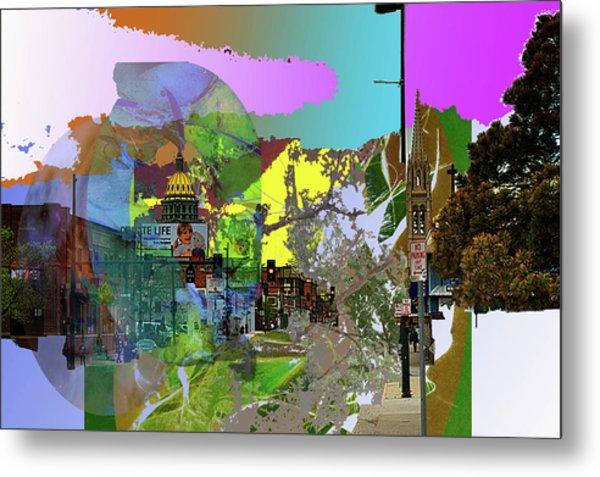 Abstract  Images Of Urban Landscape Series #5 Metal Print