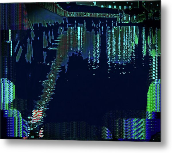 Abstract  Images Of Urban Landscape Series #7 Metal Print