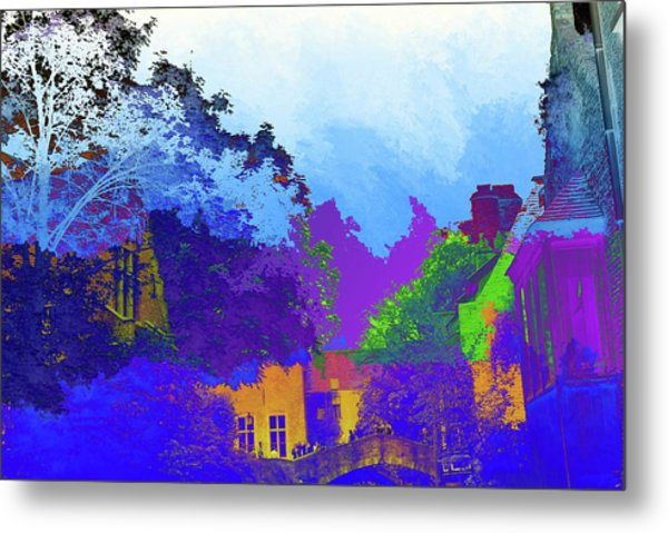 Abstract  Images Of Urban Landscape Series #8 Metal Print