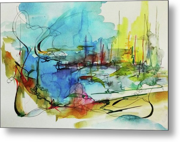 Abstract Landscape #1 Metal Print