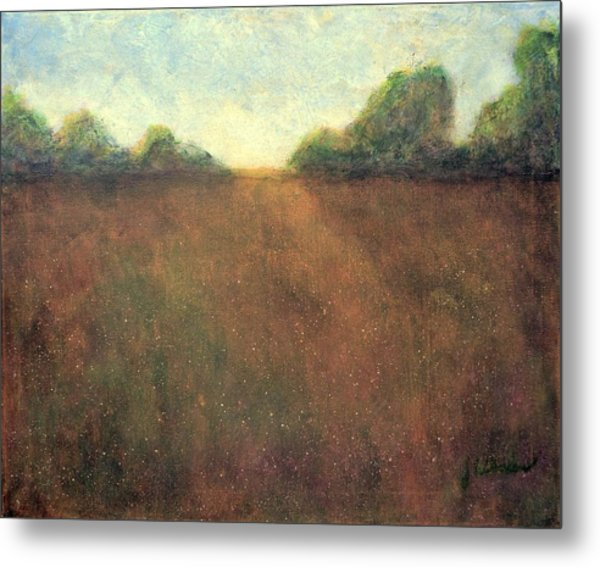 Abstract Landscape #212 - Art By Jim Whalen Metal Print