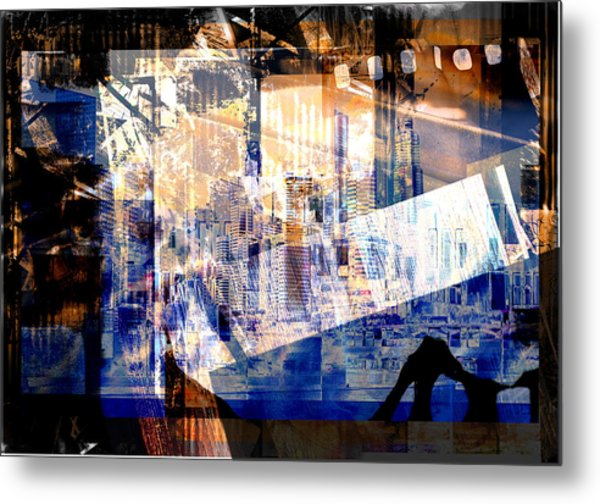 Abstract Movie Metal Print