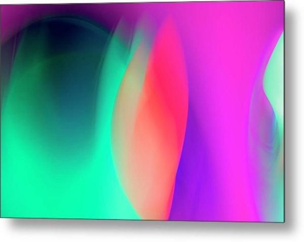 Abstract No. 6 Metal Print