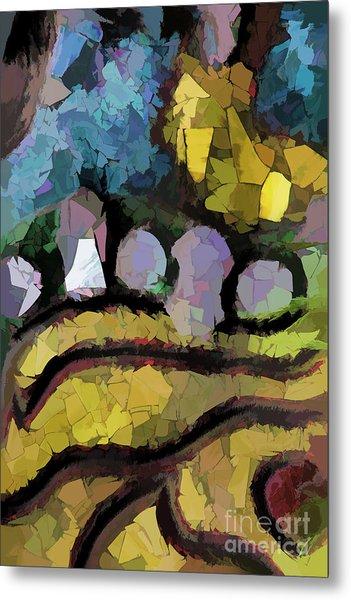 Abstract No. Three Metal Print
