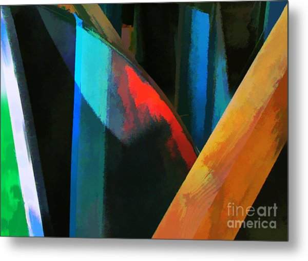 Abstract No. Twenty Four Metal Print by Tom Griffithe