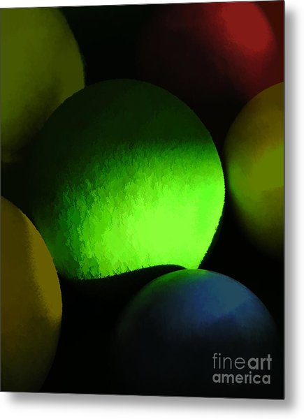 Abstract No. Twenty One Metal Print by Tom Griffithe