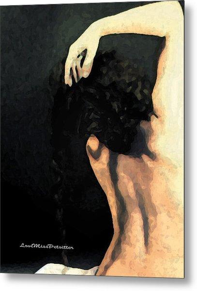 Abstract Nude Art 1 Metal Print