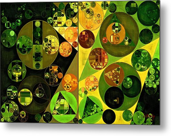 Abstract Painting - Barberry Metal Print