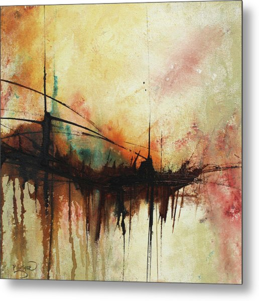 Abstract Painting Contemporary Art Metal Print