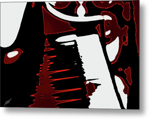 Abstract Piano Metal Print