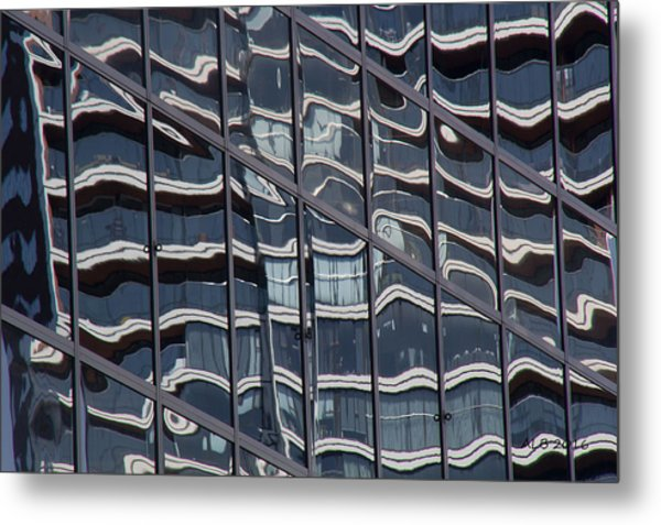 Abstract Rotterdam Metal Print