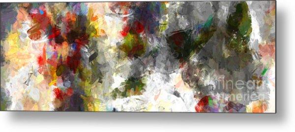 Abstract Summer Clouds Modern Decor Metal Print