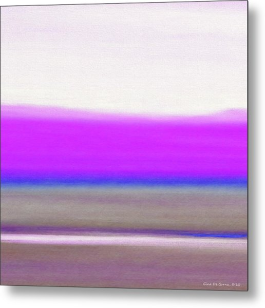 Abstract Sunset 65 Metal Print