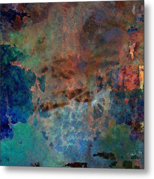Abstract Wash 3 Metal Print