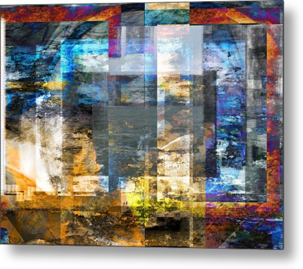 Abstract Wave .. Metal Print