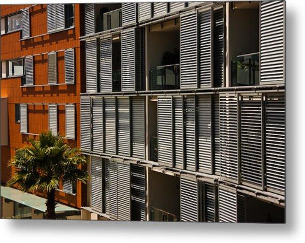 Abstract Windows Pattern Metal Print by John Buxton