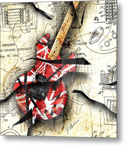Abstracta 35 Eddie's Guitar Metal Print