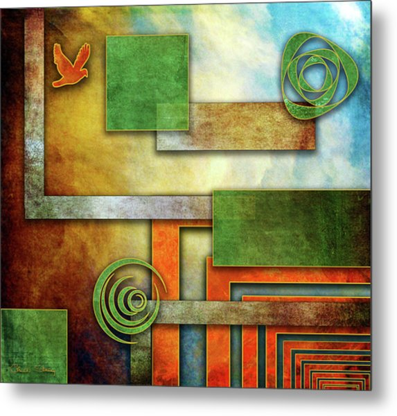 Abstraction 2 Metal Print