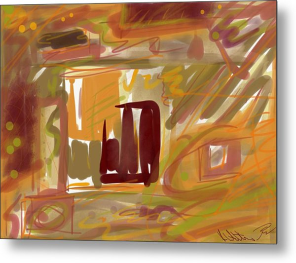 Abstraction Collect 1 Metal Print