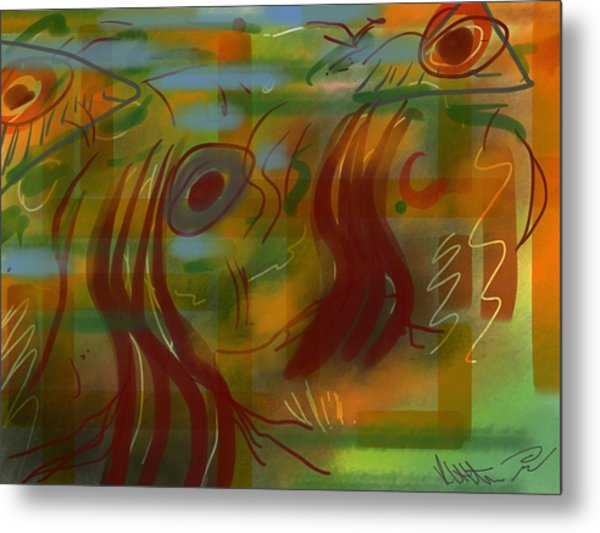 Abstraction Collect 5 Metal Print